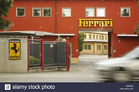 ferrari factory sky view ferrari factory entrance sign maranello stock photos u0026 ferrari