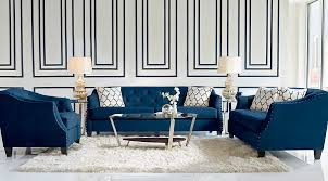 Dark Blue Loveseat Navy Blue Gray U0026 White Living Room Furniture Ideas U0026 Decor