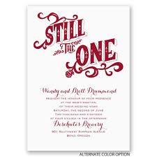 vow renewal ceremony program still the one vow renewal invitation invitations by