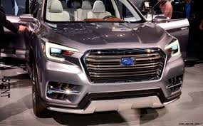 subaru pickup concept 2017 subaru ascent concept is jumbo 7 seater outback headed to