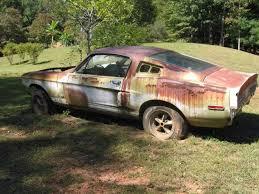 auto junkyard network judge mustang fastback car junkyard muscle cars part gto judge