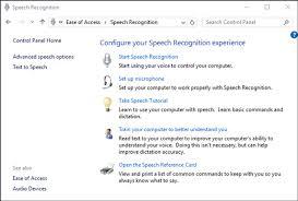 tutorial windows 10 in romana use speech recognition windows help