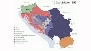 United States Timeline Map by Timeline Of The Breakup Of Yugoslavia Youtube