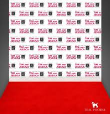 photo booth backdrop carpet event backdrop with groom names for photo booth