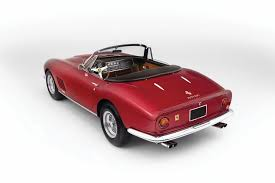 ferrari classic rare ferrari spider immortalised in steve mcqueen movie the thomas
