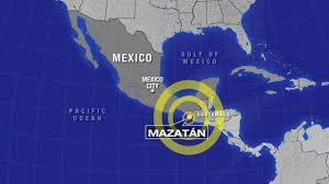 Mexico On Map by 6 9 Magnitude Earthquake Hits Mexico Guatemala 3 Dead Abc7 Com