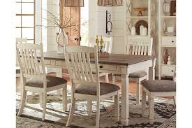 Discount Dining Table And Chairs Bolanburg Dining Room Table Furniture Homestore