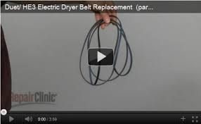 how to replace a dryer belt all parts for a happy home