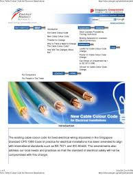 singapore electrical wiring standards cp5 100 images new cable