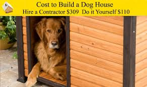cost to build a dog house youtube