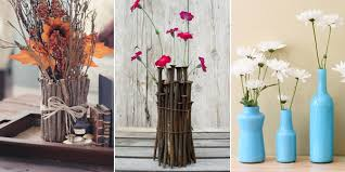 Vase With Twigs 10 Diy Vases That Will Make Your Flowers Look Even More Beautiful