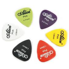 wholesale guitar picks puas ap 600q 600pcs matte abs