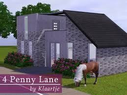 Starter Homes by Mod The Sims 4 Penny Lane No Cc Starter