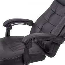 recliner office chair pu high back executive chair desk racing