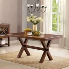 Better Homes And Gardens Dining Table Better Homes And Gardens Bryant Dining Table Rustic Brown