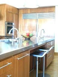 kitchen island stainless kitchen island stainless top