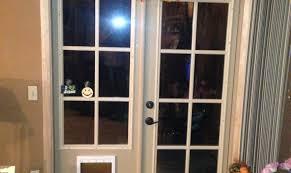 glass french doors door dog door french door nourishment cat door for wall