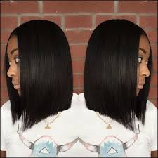 Blunt Cut Bob Hairstyle 70 Best Blunt Cut Shoulder Length Sew In Images On Pinterest