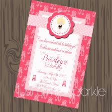 105 Best Anna U0027s 3rd by Ballerina Invitation Free Printable Invitation Design