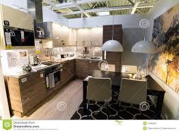 magasin de cuisine cuisine dans le magasin de meubles ikea photo éditorial image du