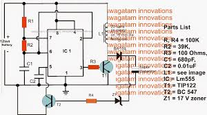 Solar Light Charging Circuit Super Capacitor Charger Circuit