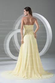 elegant yellow prom dresses 2016 chiffon evening dresses