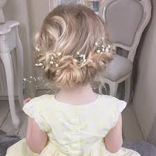 40 cool hairstyles for little girls on any occasion formal updo