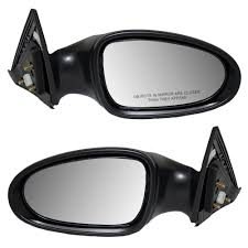 nissan altima 2005 driver side mirror new pair set power side view mirror glass housing for 2005 2006