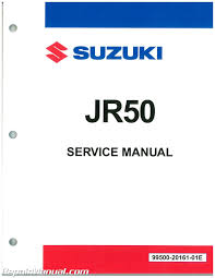 1985 1999 suzuki jr50 motorcycle repair manual