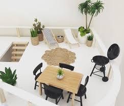 Dollhouse Modern Furniture by Modern Dollhouse By The Dollhouse Emporium Malibu Dollhouse Kit 1