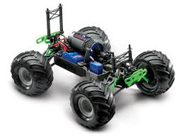 large grave digger monster truck toy traxxas 1 16 grave digger new rc car action