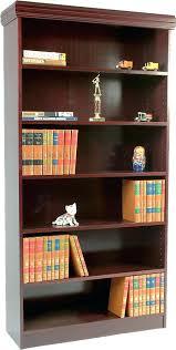 bookcase bookcase cherry finish ladder bookcase cherry finish