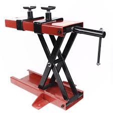 1100 lb mini scissor lift jack atv motorcycle crank stand jacks