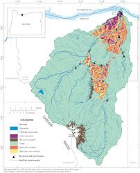 Oregon River Map by Usgs Scientific Investigations Report 2011 5082 Occurrence And
