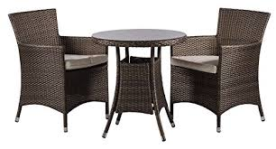 Savannah Outdoor Furniture by Savannah 2 Seat Chairs Rattan Garden Furniture Set Round Glass