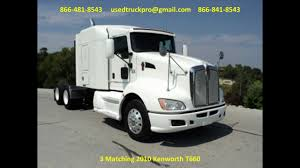 2010 kenworth trucks for sale for sale 2010 kenworth t660 from used truck pro 866 481 8543 youtube