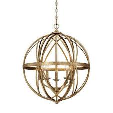 Sphere Pendant Light Globe Gold Pendant Lights Hanging Lights The Home Depot