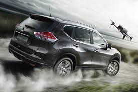 nissan x trail x scape has drone to film your active lifestyle by
