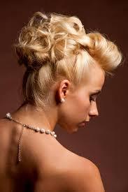 Hochsteckfrisurenen Mittellange Haar Mit Locken by Eleganter Dutt Aus Hochgesteckten Locken Festliche Und Elegante