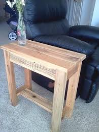 How To Build A Wood End Table by How To Make A Simple Scrap Wood End Table Scrap Wood End Tables