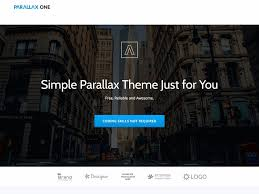 bootstrap themes free parallax 20 free parallax wordpress themes 2018 athemes