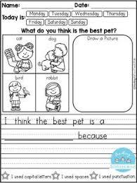 make a zebra striped sentence writing sentences handwriting