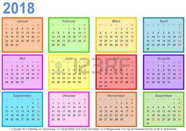 Kalendar 2018 Nederland Kalender 2018 Für Deutschland Mit Feiertagen Raum Für Notizen Und