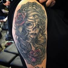 100 greatest day of the dead tattoos meanings 2017 collection