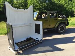 jeep wrangler storage jk jku hardtop storage cart