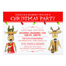 christmas party invitations christmas party invitations announcements zazzle