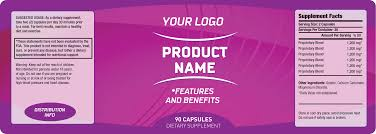 private label supplement labeling services custom white label