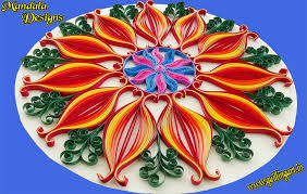 paper quilling how to make beautiful mandala designs by using