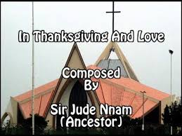 in thanksgiving and with lyrics a hymn by jude nnam