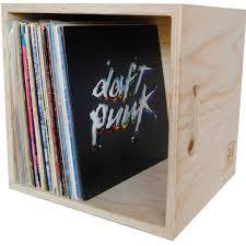 vinyl record box birch wood u2013 crowdyhouse